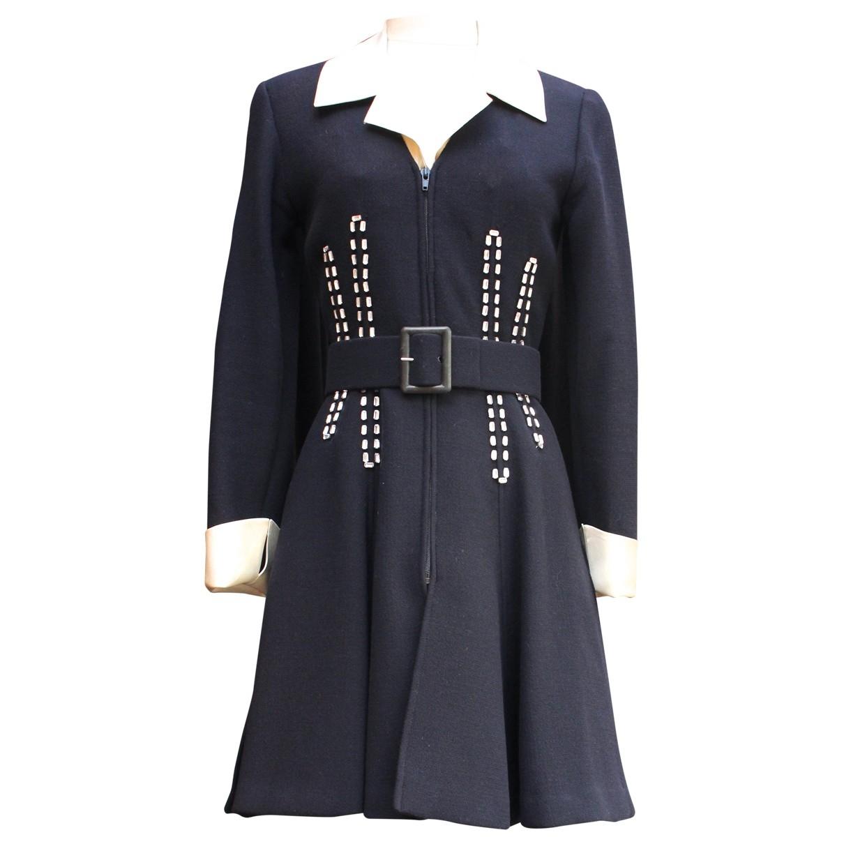 Rochas - Veste   pour femme en laine - bleu