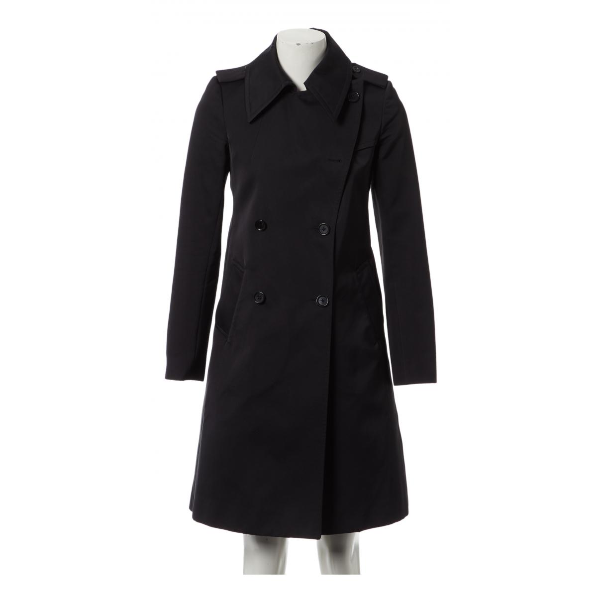 Celine - Manteau   pour femme - noir