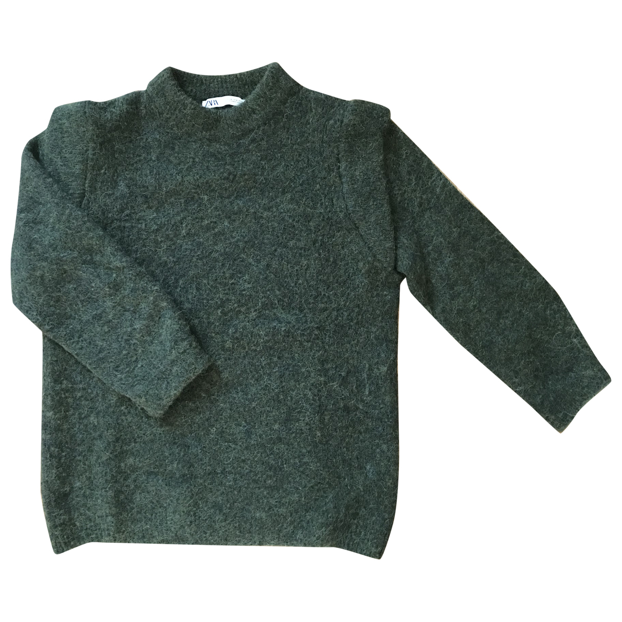 Zara N Green Wool Knitwear for Women S International