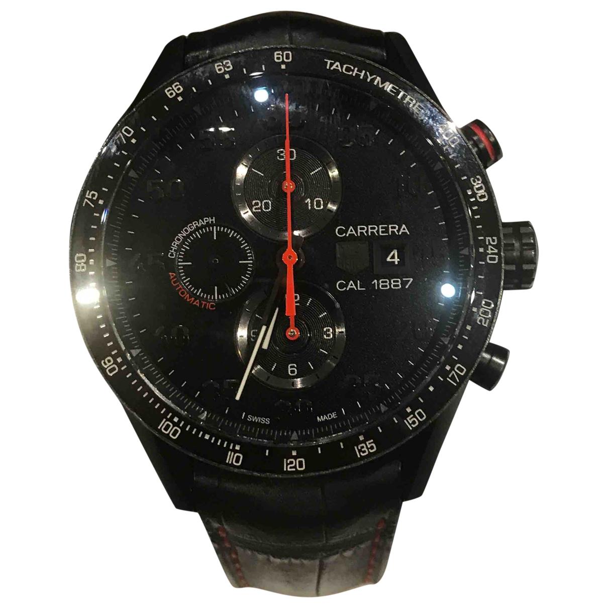 Tag Heuer Carrera Uhr in  Schwarz Titan