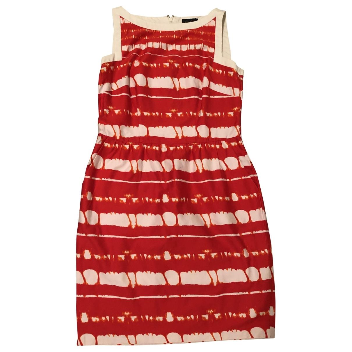 Non Signe / Unsigned \N Kleid in  Orange Baumwolle - Elasthan