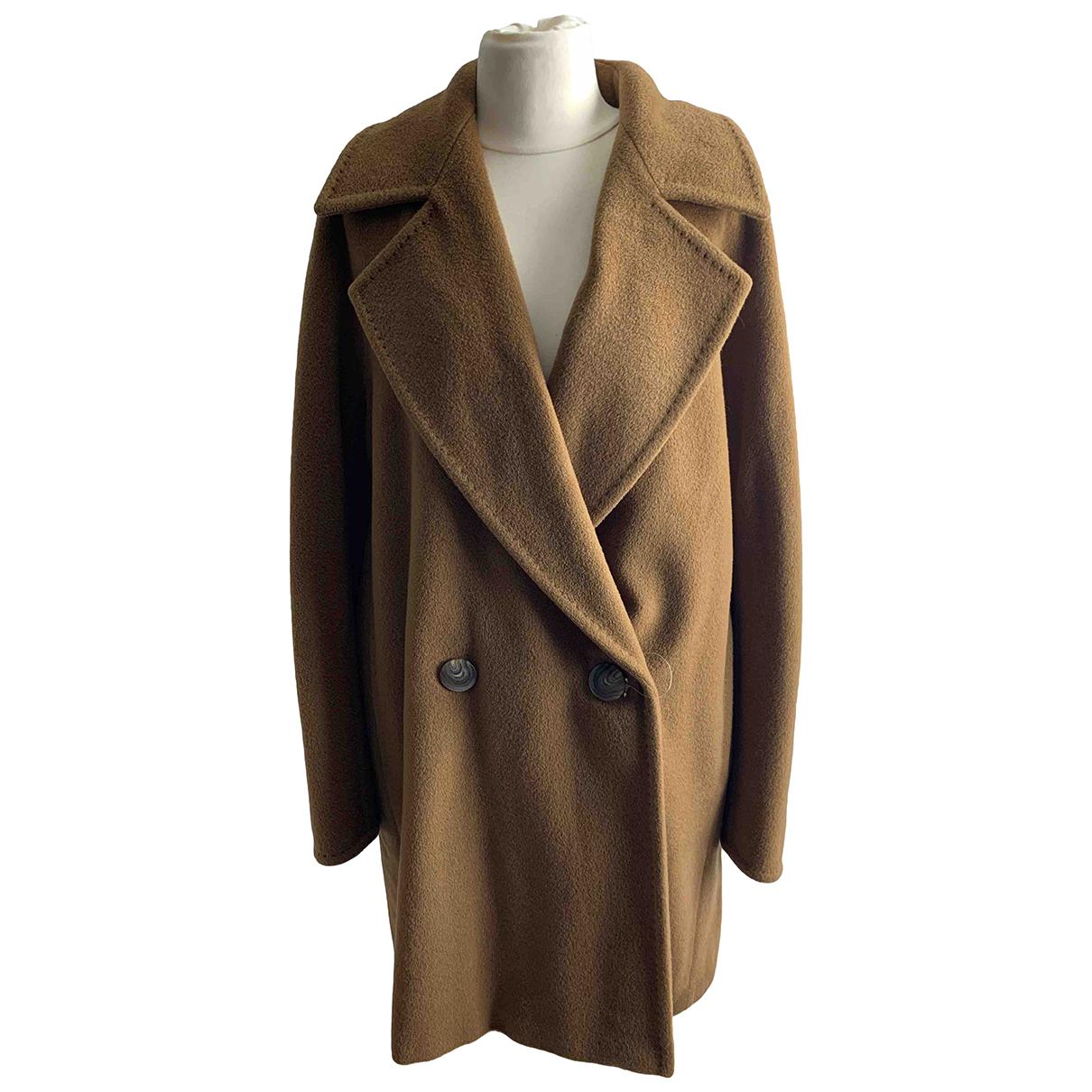 Max Mara N Brown Wool coat for Women 40 IT