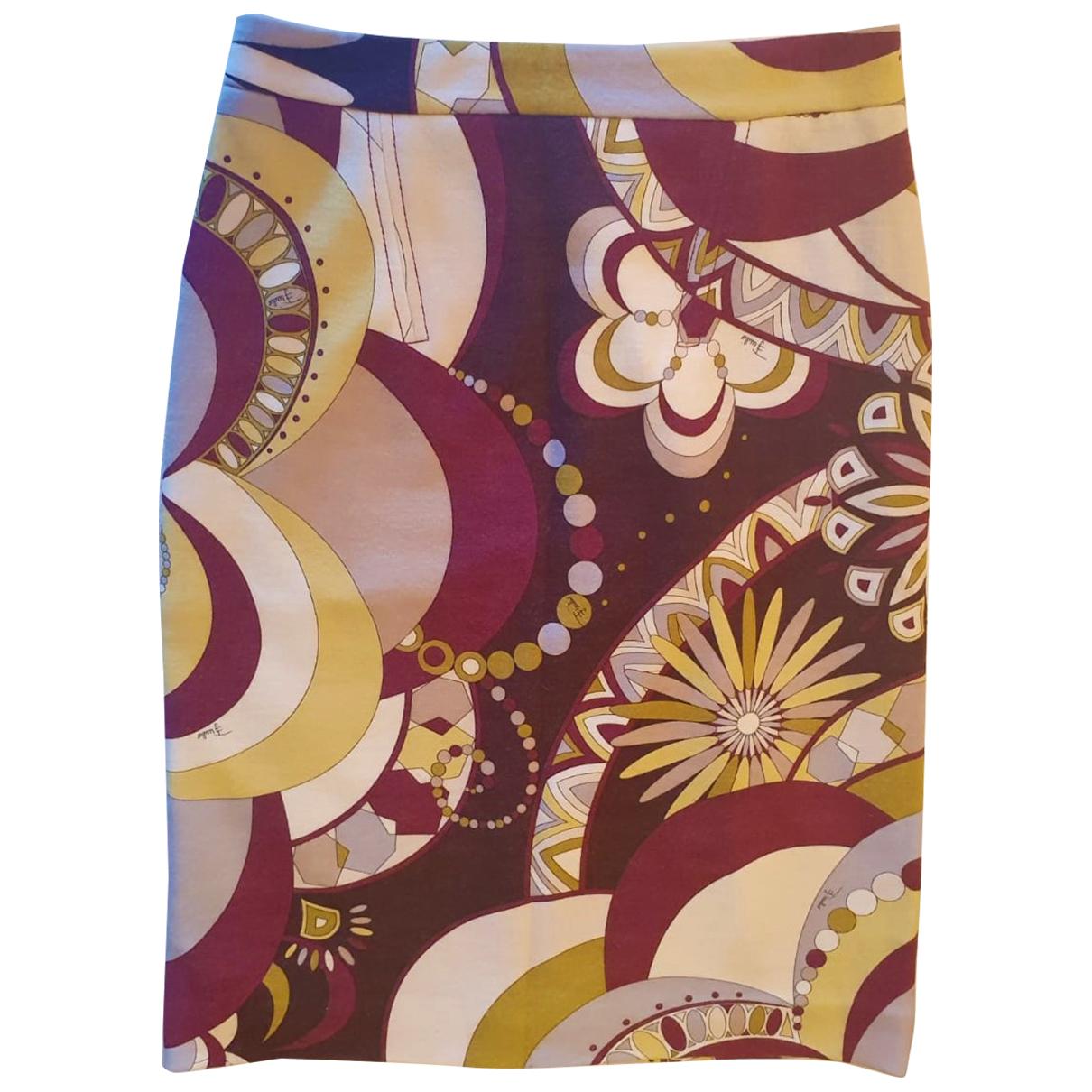 Emilio Pucci - Jupe   pour femme en laine - multicolore