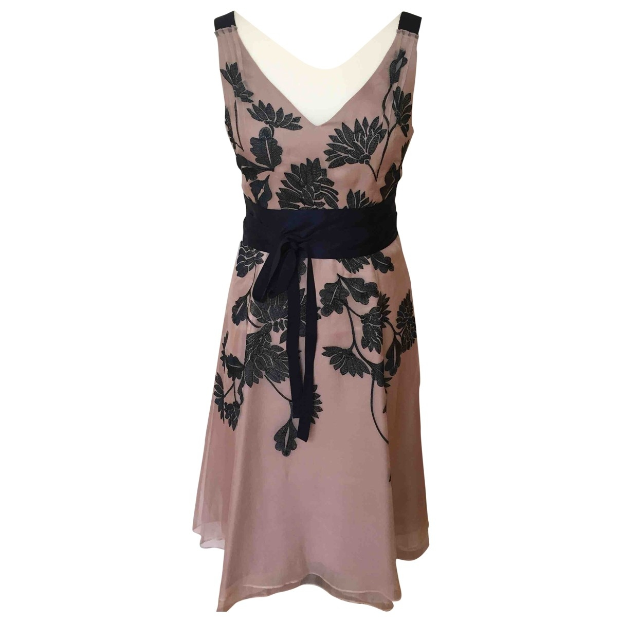 Coast \N Pink Silk dress for Women 10 UK