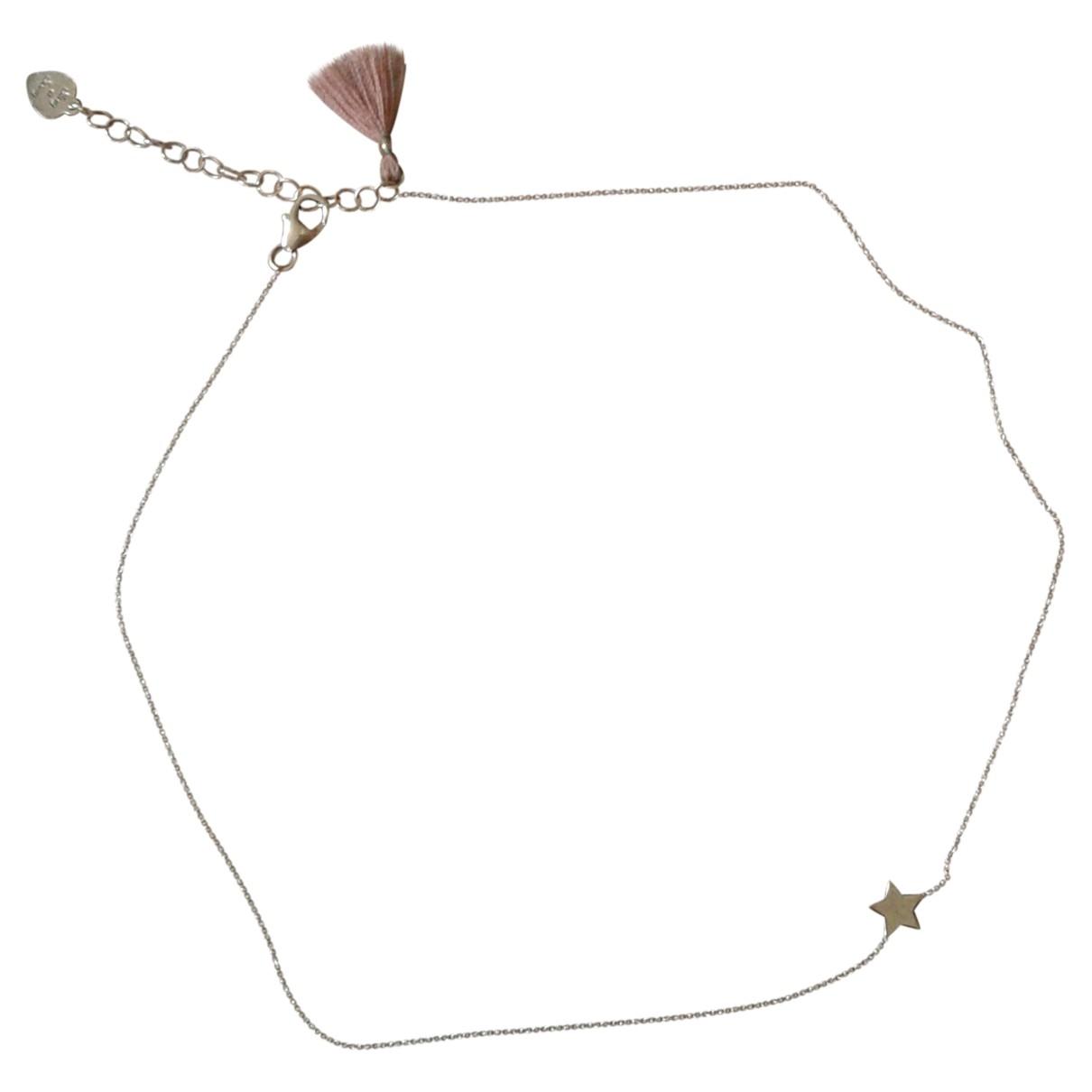 Collar Motifs Etoiles de Bermellon Non Signe / Unsigned