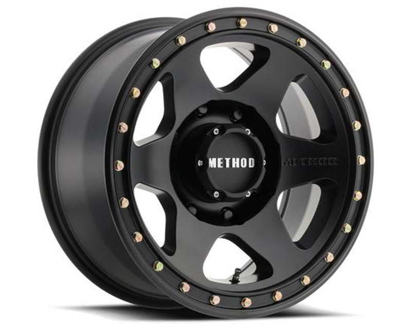 Method MR310 Con6 Matte Black Wheel 17x8.5 5x5 0mm
