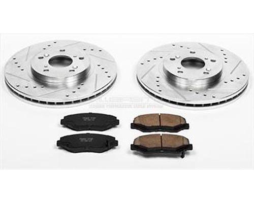 Power Stop K2302 Performance Brake Upgrade Kit Front K2302