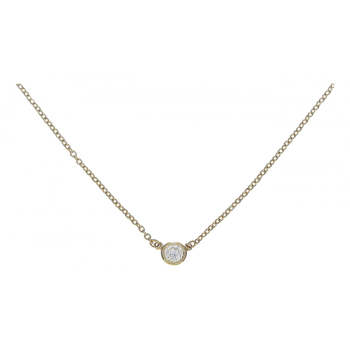 Tiffany & Co \N Kette in Gelbgold