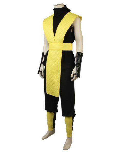 Milanoo Mortal Kombat X Scorpion Halloween Cosplay Costume
