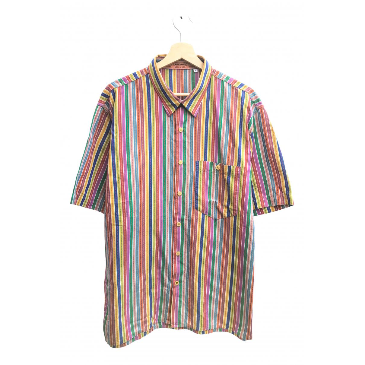 Missoni - Chemises   pour homme en coton - multicolore