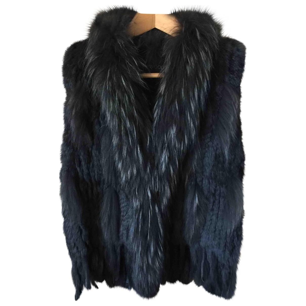 Oakwood \N Anthracite Rabbit jacket for Women 1 0-5