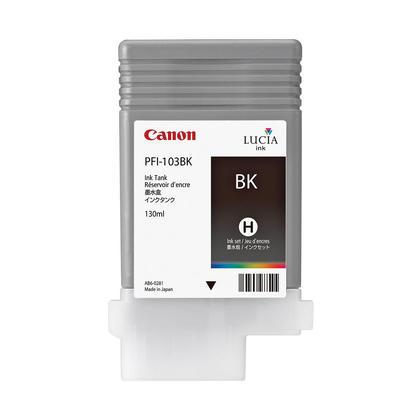 Canon PFI-103BK 2212B001AA Original Black Ink Tank