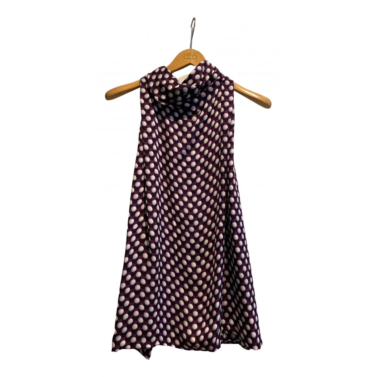 Gucci - Top   pour femme en soie - violet