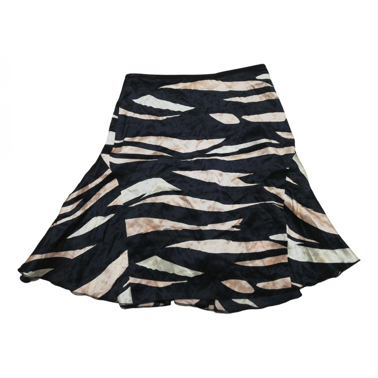 M Missoni - Jupe   pour femme en soie - multicolore
