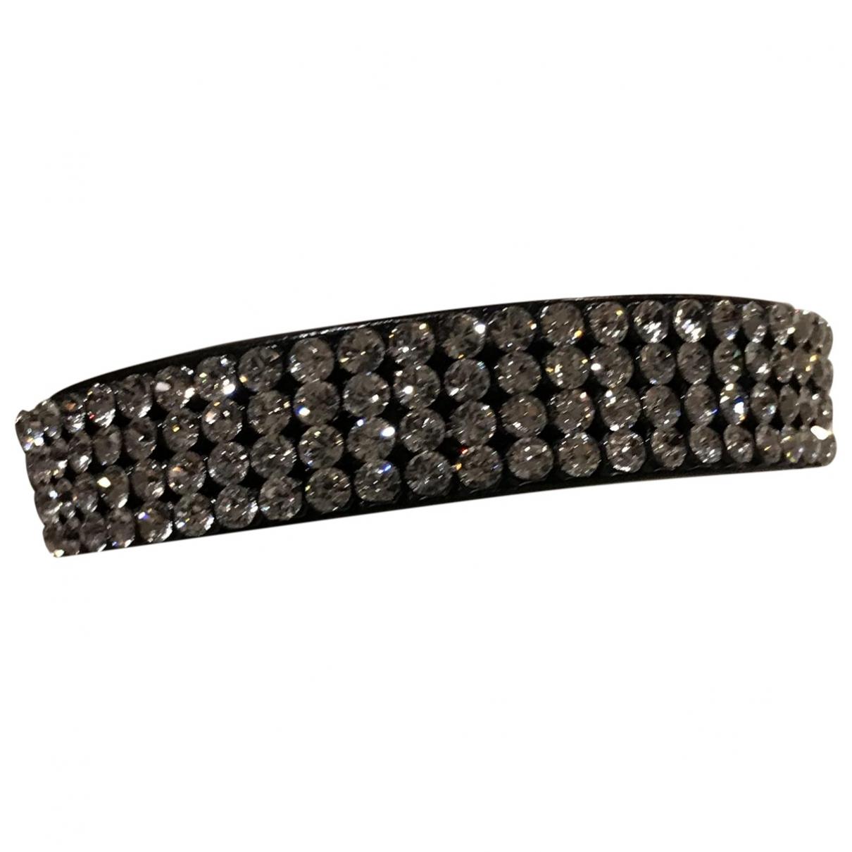 Swarovski - Bracelet Slake pour femme en cuir - noir