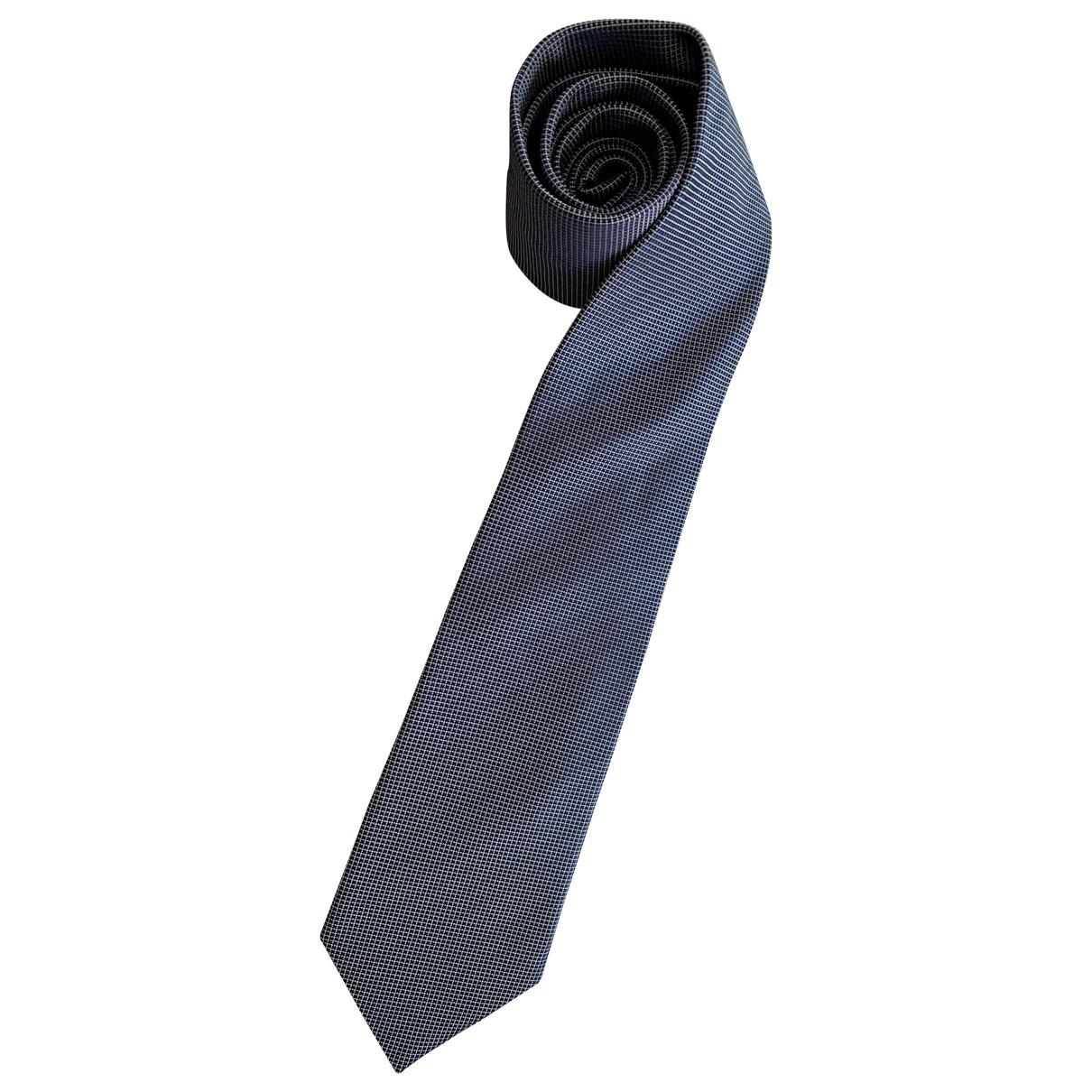 Boss \N Navy Silk Ties for Men \N