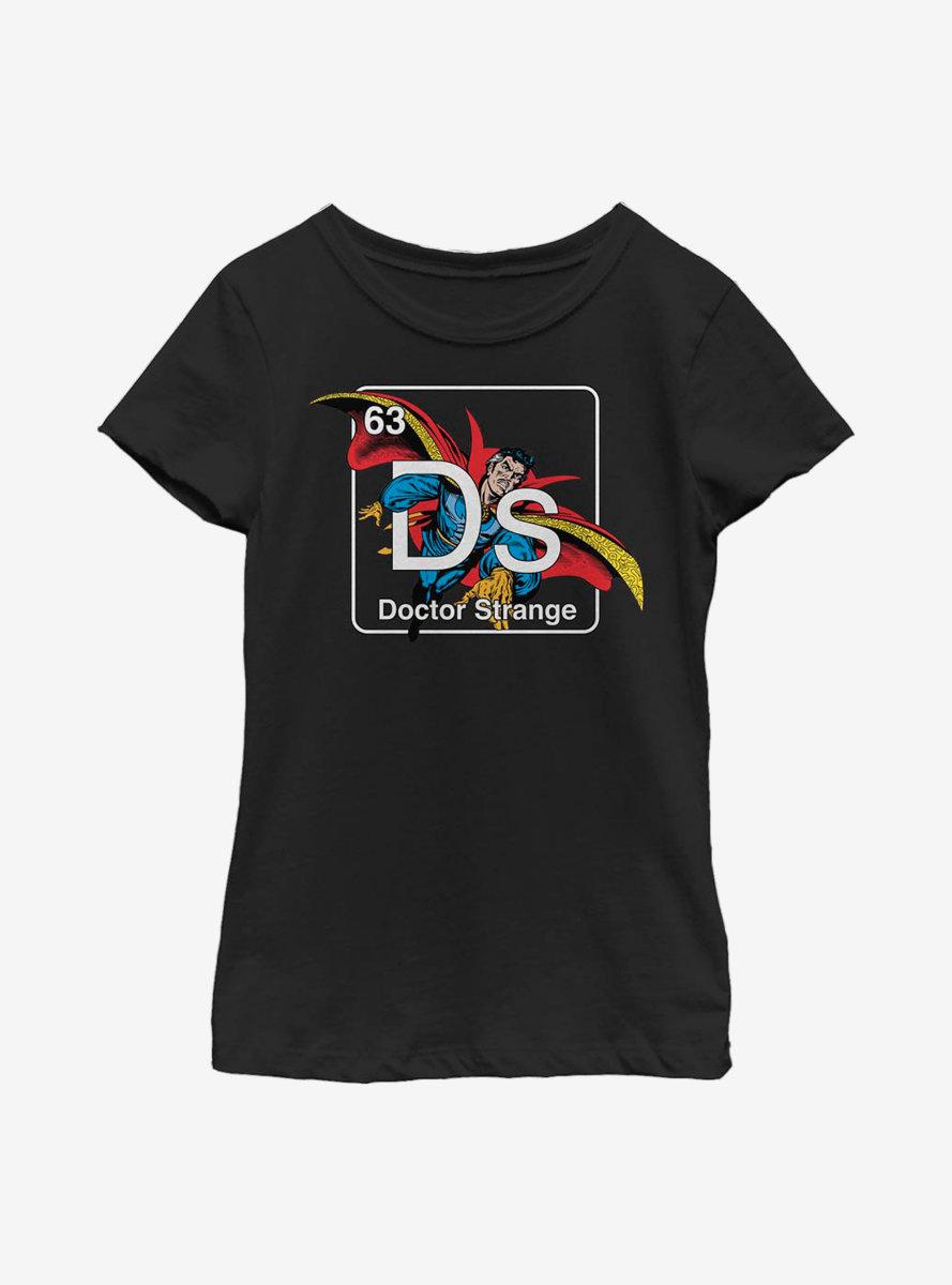 Marvel Doctor Strange Periodic Doctor Strange Youth Girls T-Shirt