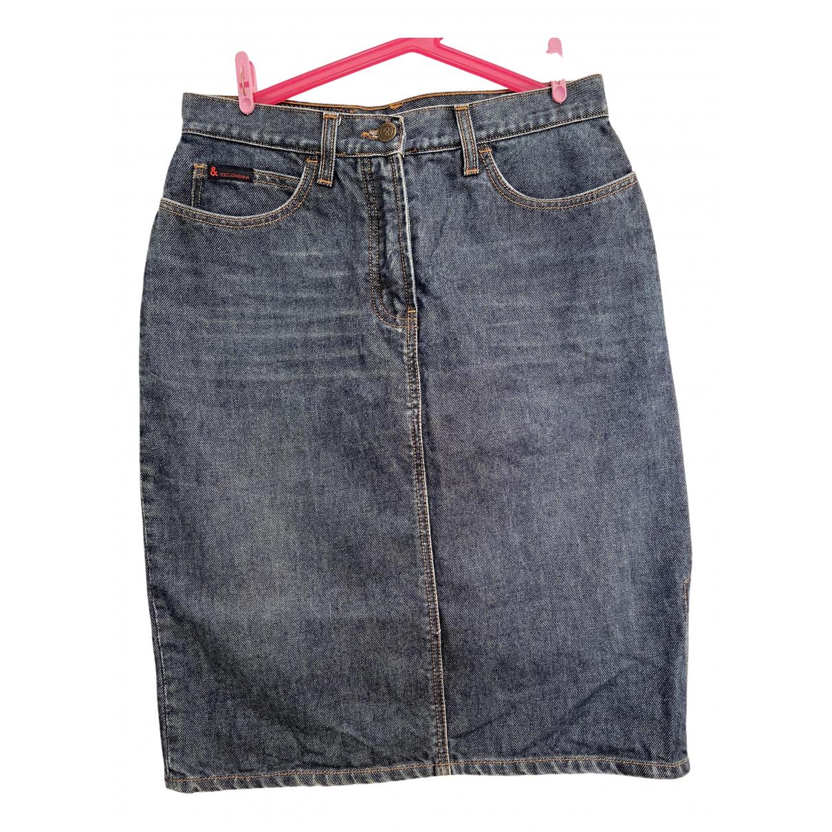 Dolce & Gabbana \N Rocke in  Marine Denim - Jeans