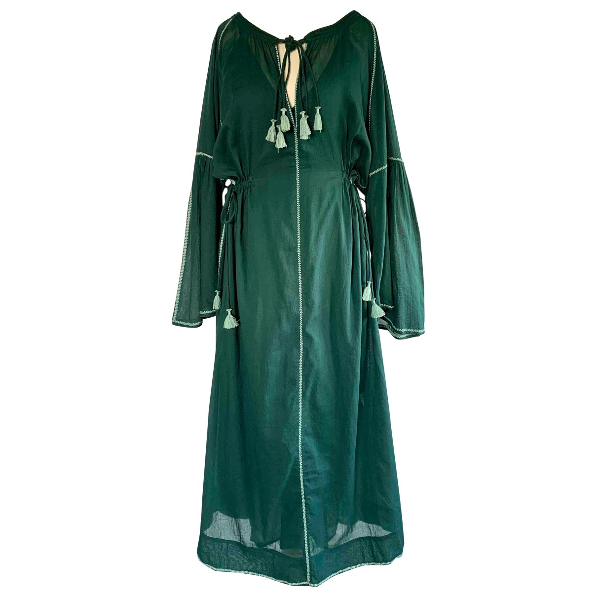 Mare Di Latte \N Green Cotton dress for Women 2 0-5