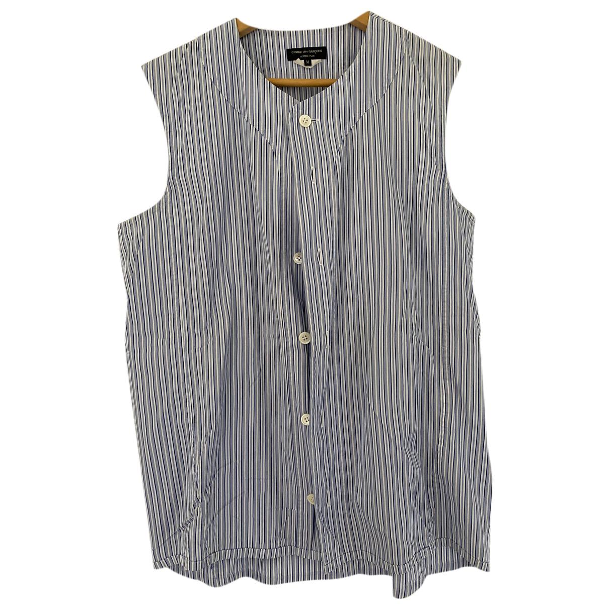 Comme Des Garcons N Blue Cotton Shirts for Men M International