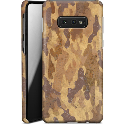 Samsung Galaxy S10e Smartphone Huelle - Camo Bark von caseable Designs