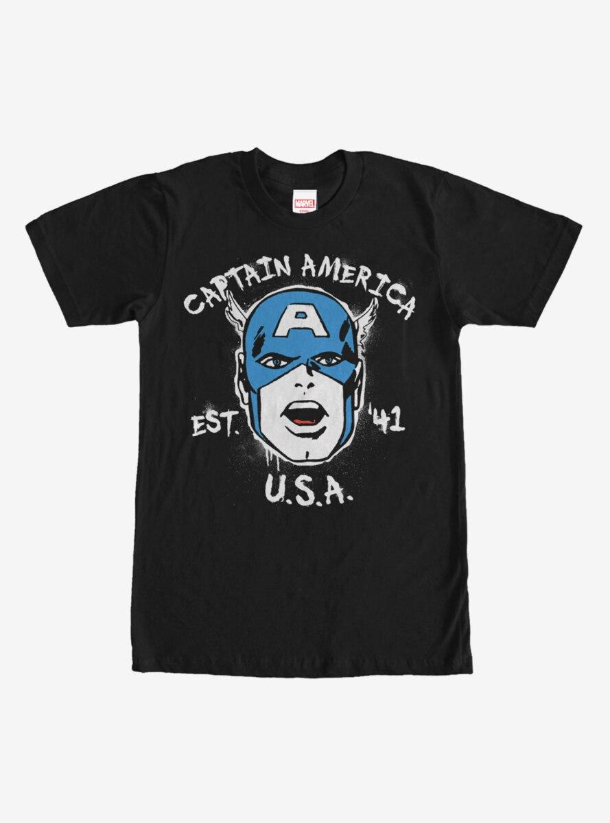 Marvel Captain America Est 1941 T-Shirt