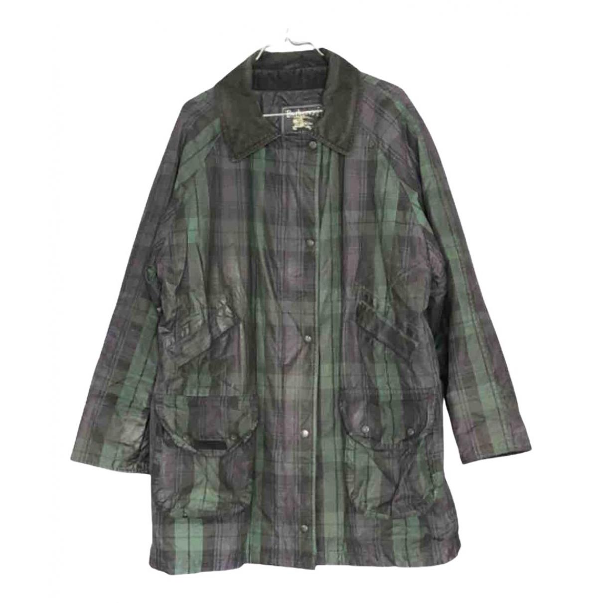 Burberry - Manteau   pour homme en coton - multicolore