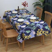 Tischdecke mit Pflanzen Muster