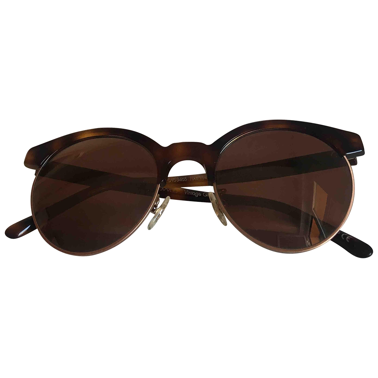 Oliver Peoples \N Sonnenbrillen in  Braun Kunststoff