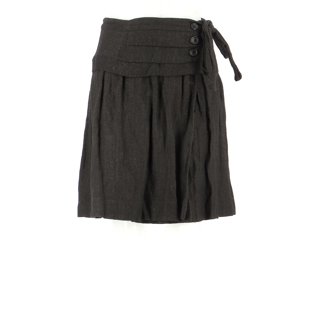 Comptoir Des Cotonniers \N Black Wool skirt for Women 38 FR