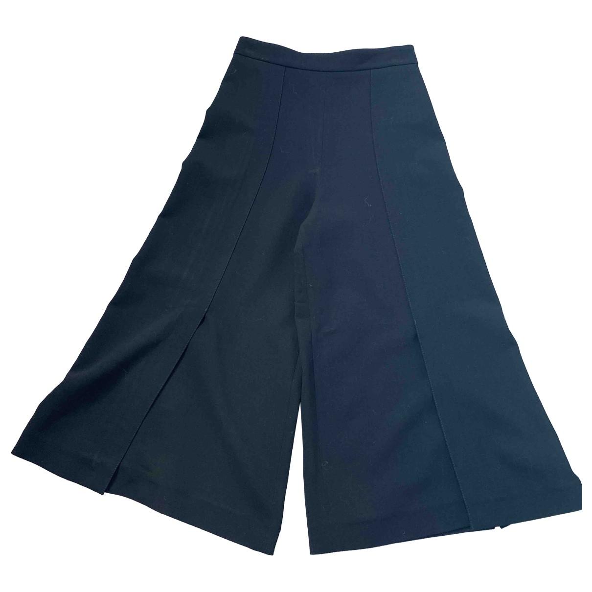 Proenza Schouler \N Black Wool Trousers for Women 4 US