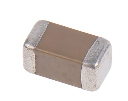KEMET 1206 (3216M) 22μF Multilayer Ceramic Capacitor MLCC 10V dc ±10% SMD C1206C226K8RACTU (10)