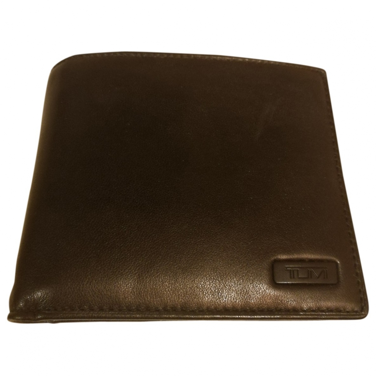 Tumi \N Black Leather Small bag, wallet & cases for Men \N