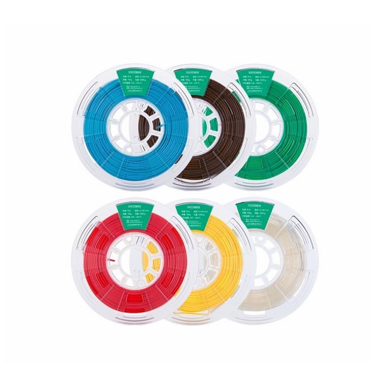 1KG/Roll 1.75mm White/Black/Gray/Green/Orange/Sky Blue/Dark Brown PLA Filament for 3D Printer
