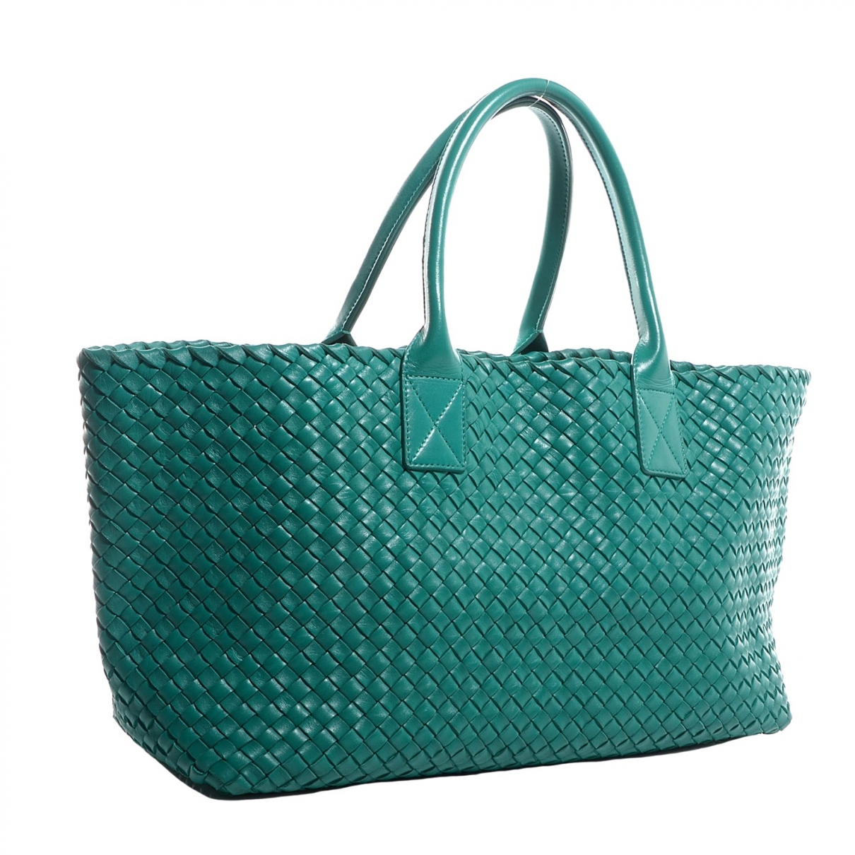 Bottega Veneta Cabat Green Leather handbag for Women \N