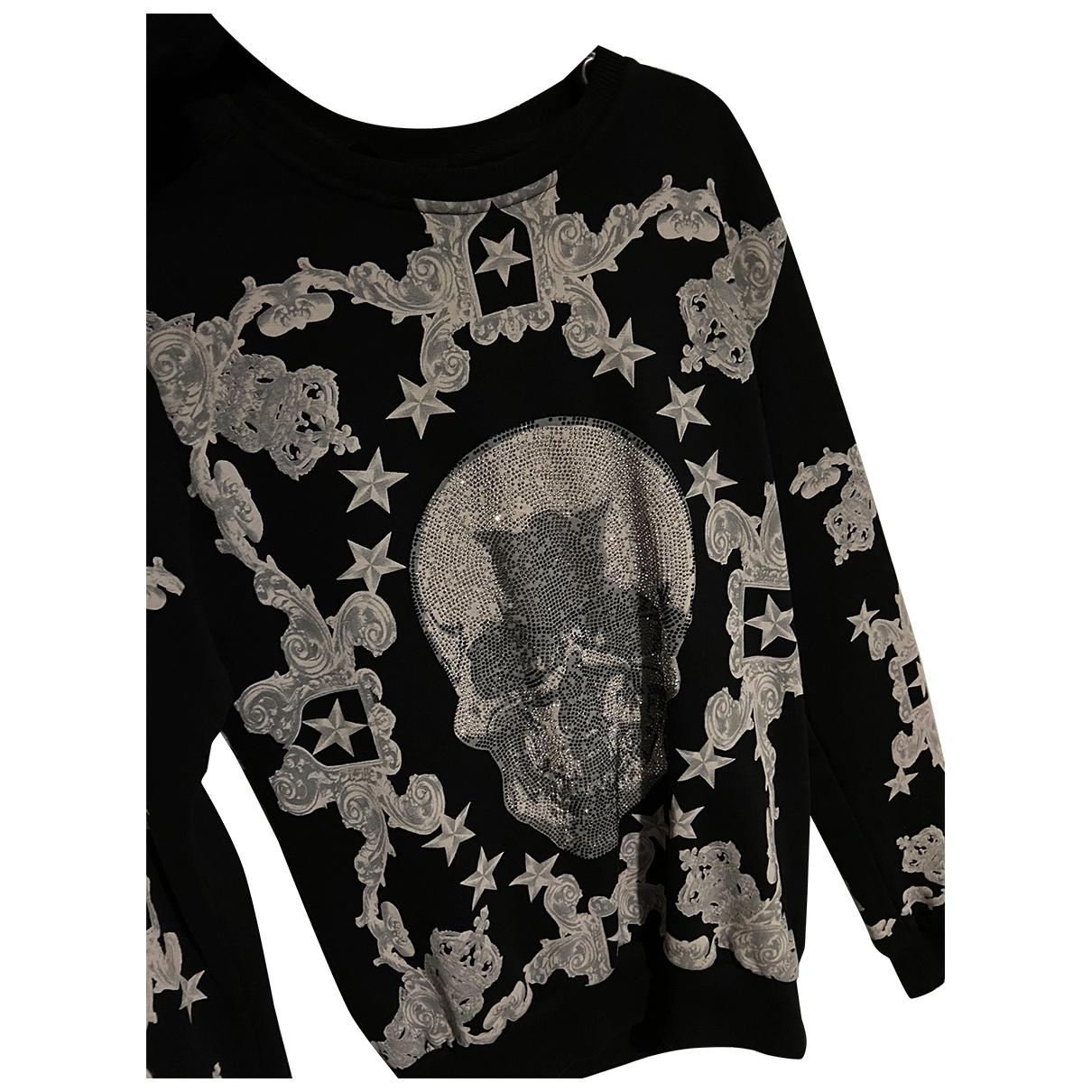 Philipp Plein \N Black Cotton Knitwear & Sweatshirts for Men M International