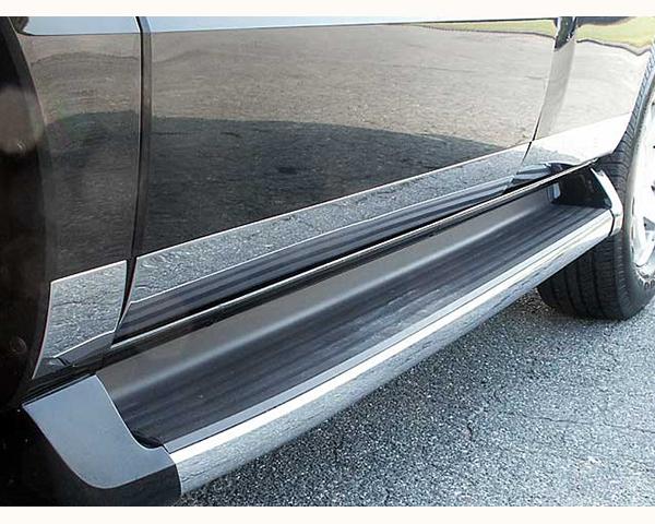 Quality Automotive Accessories 6-Piece Rocker Panel Accent Trim Kit Cadillac Escalade 2003