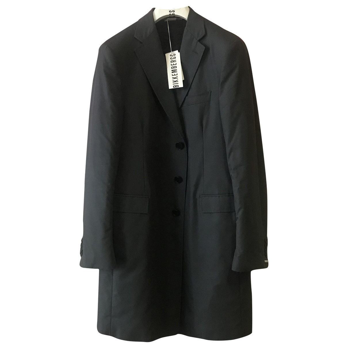Dirk Bikkembergs \N Black Cotton jacket  for Men 52 IT