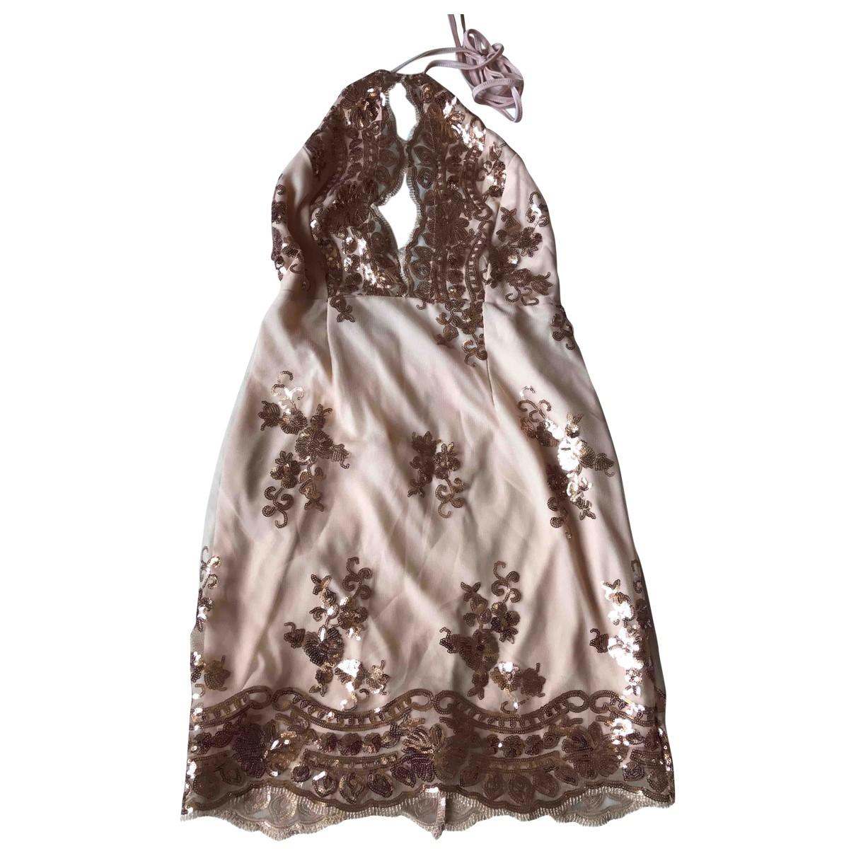 Mini vestido Epaulettes Non Signe / Unsigned
