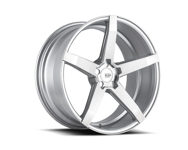 Savini BM11-19085512R2866 di Forza Brushed Silver BM11 Wheel 19x8.5 5x112 28mm