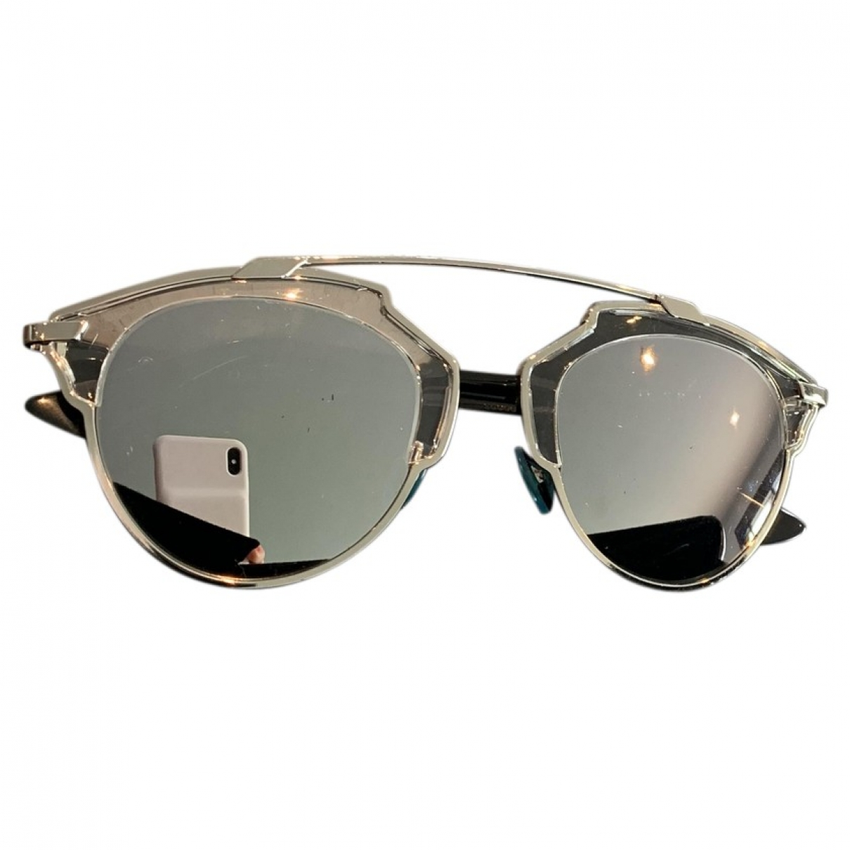 Dior So Real  Silver Sunglasses for Women \N
