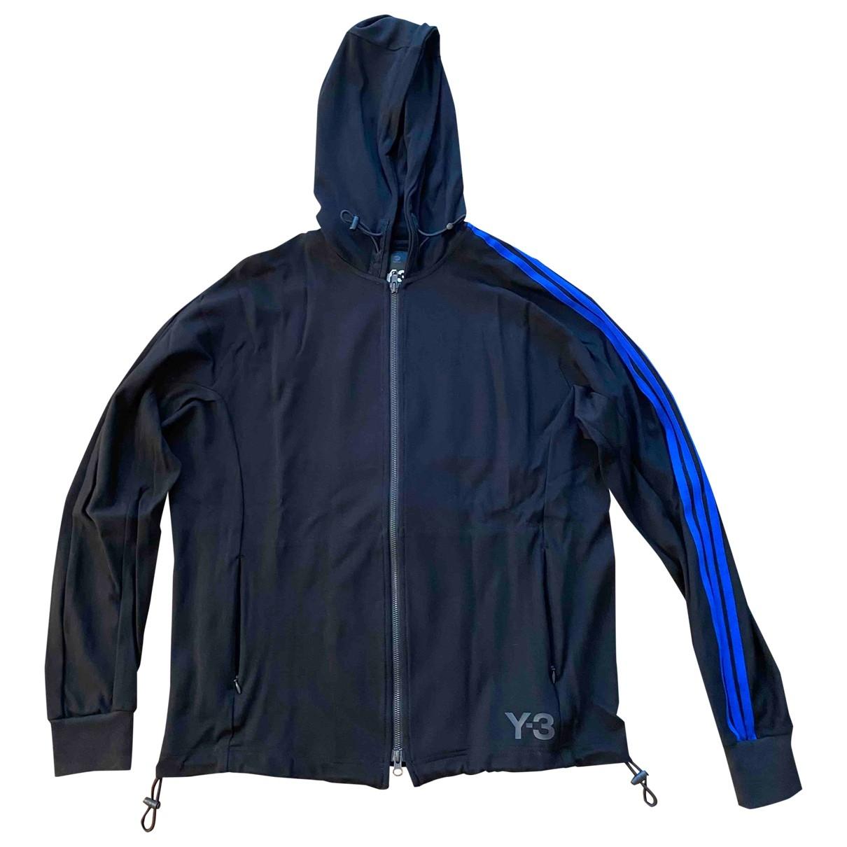 Y-3 \N Pullover.Westen.Sweatshirts  in  Schwarz Synthetik
