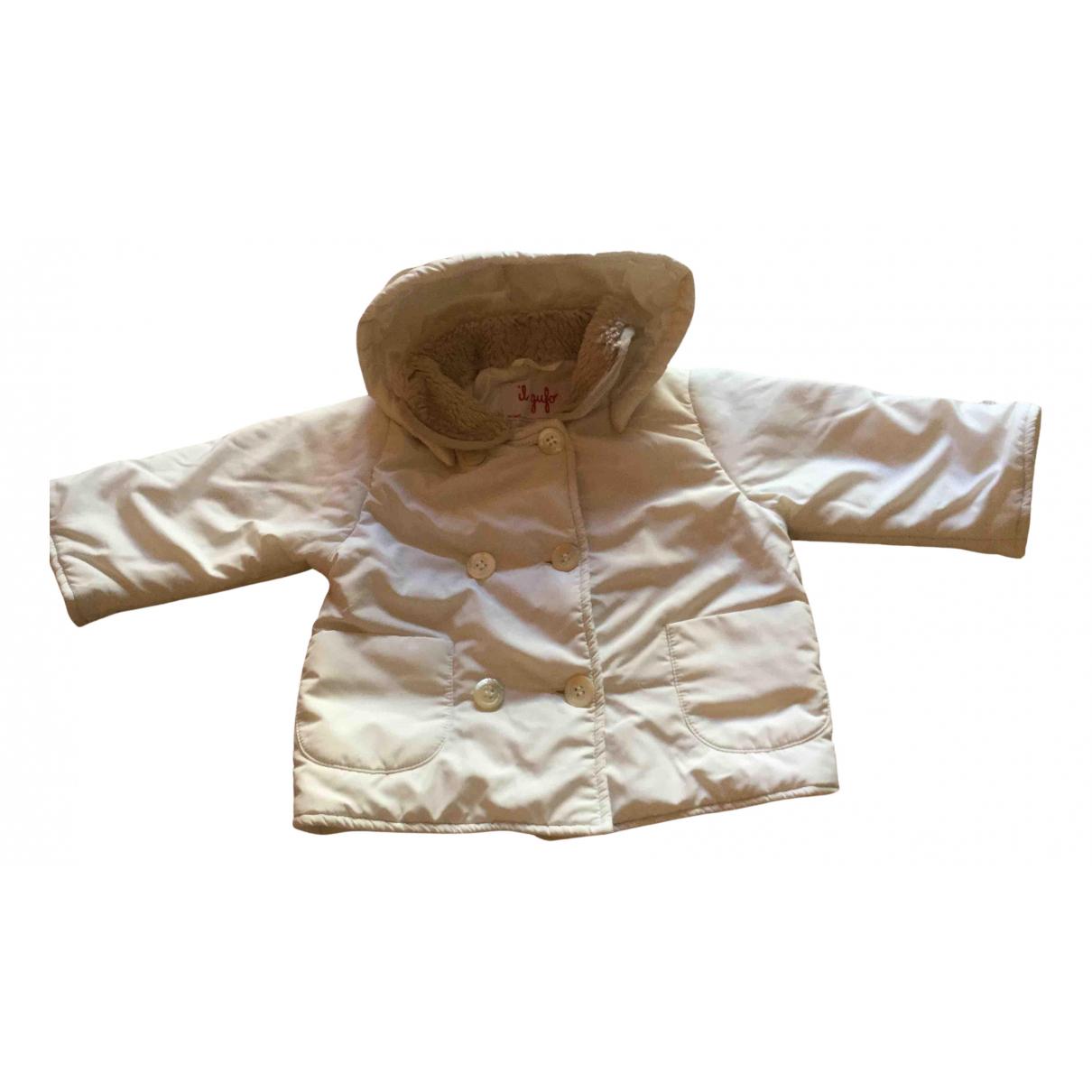 Il Gufo \N Jacke, Maentel in  Beige Polyester