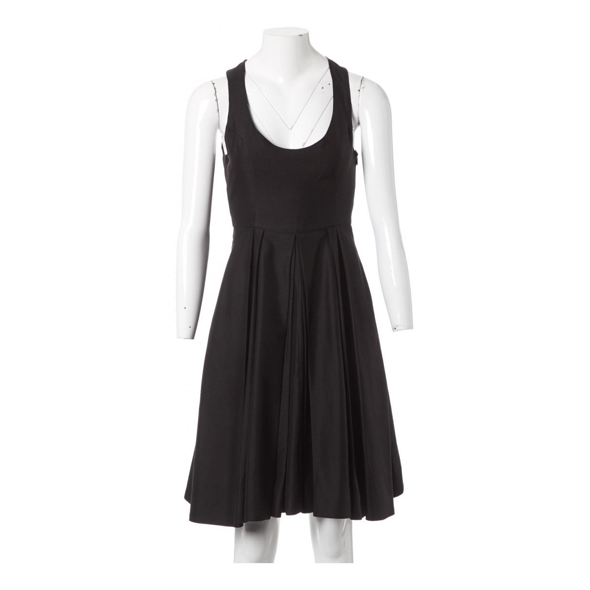 Emilia Wickstead \N Kleid in  Schwarz Seide