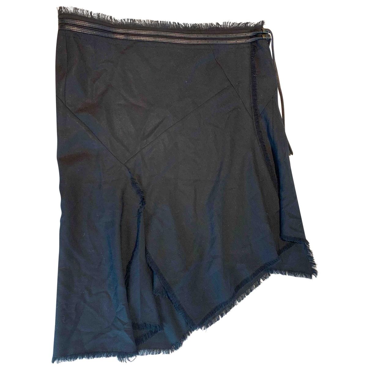 Scanlan & Theodore \N Black Wool skirt for Women 10 US