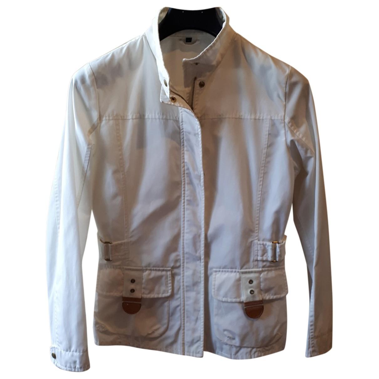 Fay - Veste   pour femme en coton - blanc