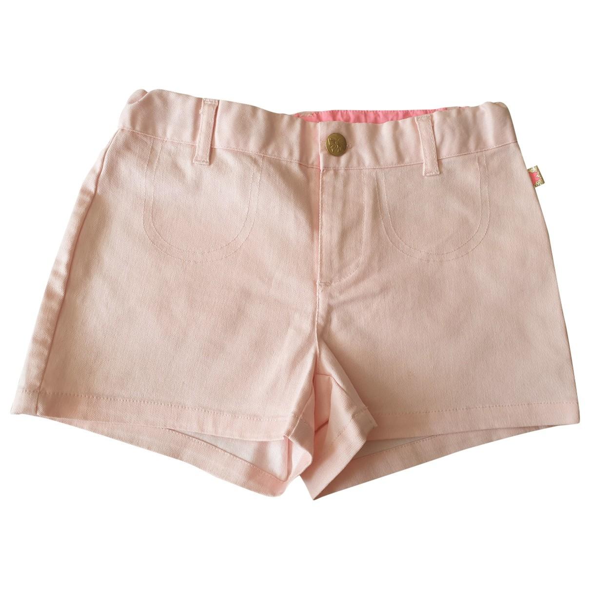 Billieblush - Short   pour enfant en coton - rose