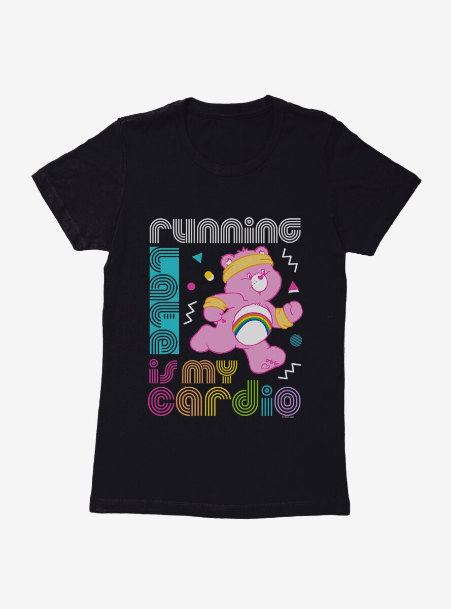 Care Bears Running Is Cardio Womens T-Shirt