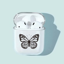 Butterfly Pattern AirPods Case