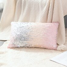 1pc Gradient Sequin Pillowcase Without Filler